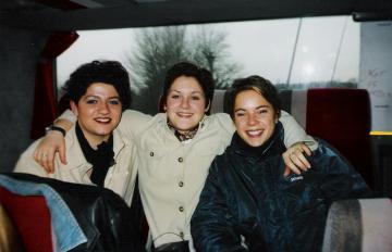 Amélie, Gwen et moi
